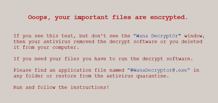 Ransomeware Protection